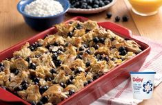 Blueberry French Toast Casserole Recipe by DAISY_RECIPES