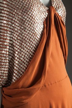 Evening Dress (detail), Jeanne Lanvin: ca. 1935.