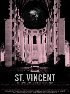 St. vincent // north american tour // spring 2014
