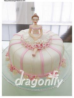 Ballet dancer cake / Bolo com bailarina