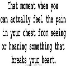 I have felt that pain....horrible!