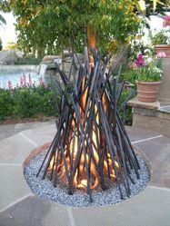 BD Design's sculptural bonfire