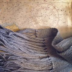 a gift from the sea baby alpaca blue gray by TheWeaverOfWords
