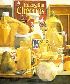 cheerios by dpaynearteacher, via Flickr  love the idea of all one color still life