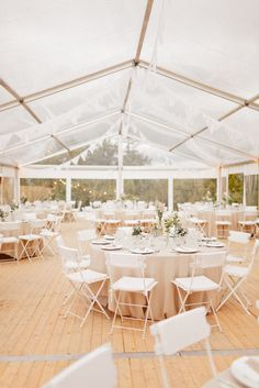 Tented Wedding - #Neutrals |  On #SMP Weddings: http://www.StyleMePretty.com/2014/01/06/le-grand-banc-provence-wedding/ | Xavier Navarro Photography