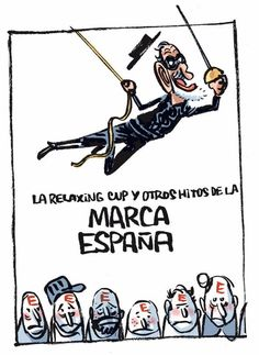 Relaxing cup y la Marca España