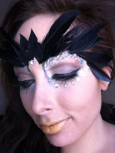 Owl Halloween Makeup