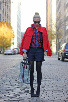 Tendencia: Tartan shirts and more - Cranberry Chic