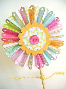 Mother's Day Flower-Spring Flower-great, yet simple paper flower project