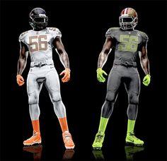 New Pro Bowl Uniforms! I like the number! Brian Cushing...huh, HUH?!?! I think so!
