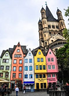Cologne, Germany. I know EXACTLY where that is :(