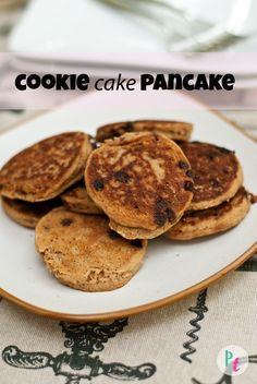 gluten free vegan cookie cake pancakes