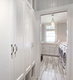 If there is such a thing as a glamourous Laundry Room, this is it.