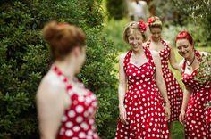 Bridesmaid Dresses by Vivien of Holloway.