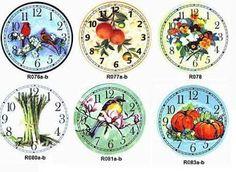 MINISDEANNA: IMPRIMIBLES - clock faces