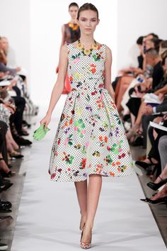 Look 23: Oscar de la Renta Spring 2014 Ready-to-Wear Collection Slideshow on Style.com