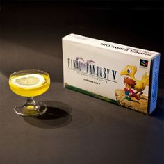 Chocobo: A Final Fantasy Cocktail