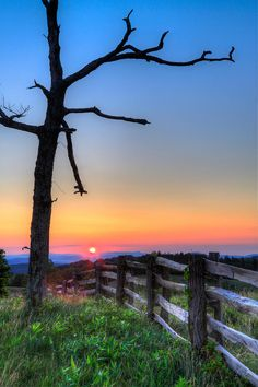 Sunrise, Blue Ridge Mountains, Virginia