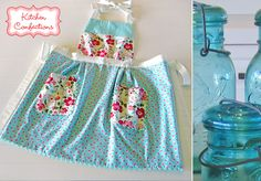 Kitchen Confections in Moda's Vintage Modern: Pleated Apron | Sew4Home
