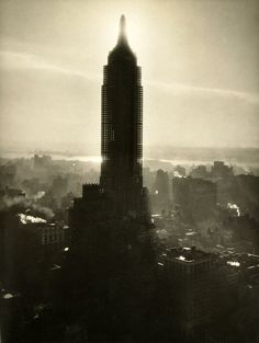 Empire State Under Construction