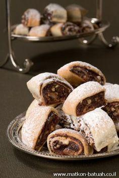עוגיות תמרים מבצק שמנת - מיקי שמו