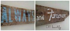 Barn Wood Sign www.diybeautify.com
