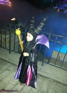Oh my gosh- Elsie would LOVE this. Maleficent Costume - Halloween Costume Contest via @costumeworks