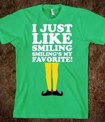 Smiling--love Elf!