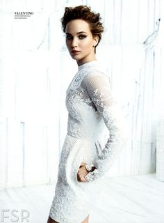 Jennifer Lawrence by Michelangelo Di Battista for InStyle US December 2013