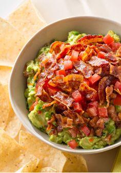 Bacon-Topped Guacamole