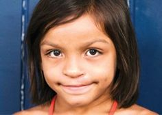 Born with a cleft lip and a cleft palate, Thais' parents knew nothing of such facial deformities.
