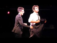 Piero and Ignazio (Il Volo) being hilarious and fooling around @ NYCB Th...