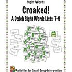 This is a great interactive sight word game that is perfect for small group instruction or as an activity for your literacy centers.  Students take...