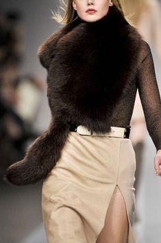 paris fashion, fashion shoes, glamor chic, furs, style, girl fashion, brown, girls shoes, cream