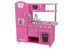 Bubblegum Vintage Kitchen