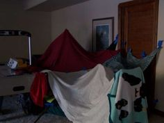 Blanket Forts! My brothers and I lived in these at times. The best!