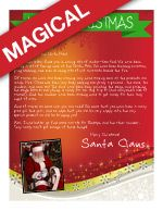 Christmas Eve Letter from Santa! Has Santa been too busy to send your little one a letter this year? Start a new tradition!! www.easyfreesantaletter.com