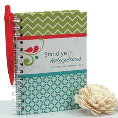 """Stand Ye in Holy Places"" Journal & Pen"