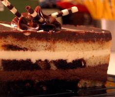 Tuxedo Truffle Cake