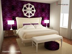 Burgundy Bedroom Oooh Maybe Do Something Similar But Diff Color More