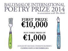 Ballymaloe International Poetry Prize 2014