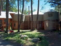 Two Story Yurt Cabins