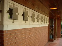 FLW. Zimmerman House. 1950 Manchester, New Hampshire. Usonian Style