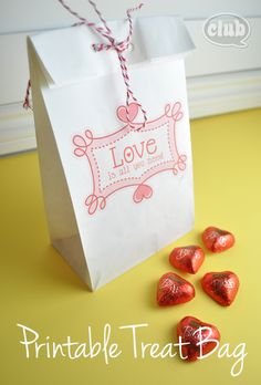 How to Print on Paper Bags with Free Printable