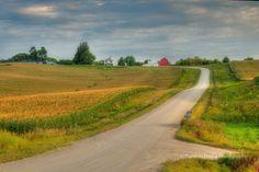 """Amish Country"" in Southeastern Minnesota near Lanesboro."