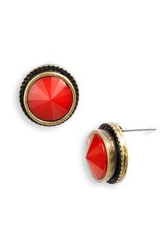 Stephan & Co. Stone Stud Earrings #nordstroms $6