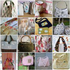 DIY, Bag, Tote, purse, messenger bag, bin, kid, girl, gift idea, fabric, see, craft, to do, idea,