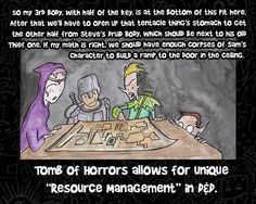 Tomb of Horrors Resource Management