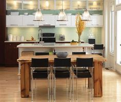 breakroom area-- Modern Gleam Rustic Kitchen Design and Furniture Trends Idea modern+rustic+kitchen+design+decoration+furniture+idea+picture – VitHouse.com | Modern Contemporary House & Office Design Furniture Trends Ideas