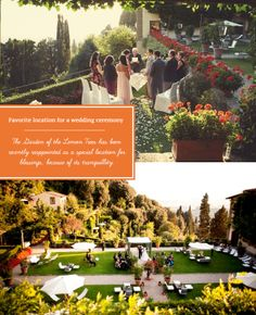 Get married or honeymoon at Belmond Villa San Michele, a stunning former monastery nestled in the verdant hills above Florence. via @grnweddingshoes